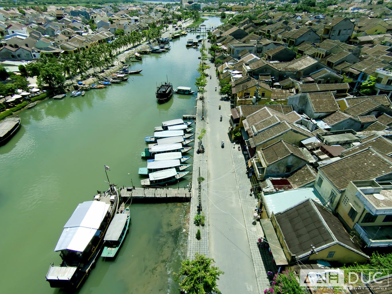 Hoian from the sky
